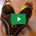 Die Brustplatte für die Frau / HowTo make a female breastplate - Jak Cosplay 1