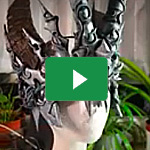 Worbla's<sup>®</sup> Black Art, Aluminium foil Horns - Erza Cosplay  2