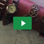 Armschiene im SteamPunk Style / SteamPunk bracer - Naruvien Art&Design 5
