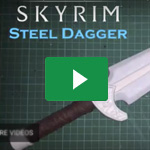 Bastle dir deinen eigenen Skyrim® Steel Dagger / Making of: Skyrim® Steel Dagger – Hogal Cosplay 4