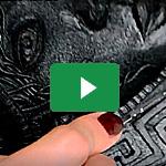 "Worbla's<sup>®</sup> Black Art Ornaments ""Greek waves"" - Erza Cosplay 3"