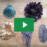 Abformen mit Silikonformen / Casting with silicone moulds - Naruvien Art&Design 5